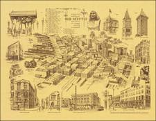 Washington Map By Neil M. Fredericksen