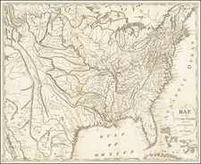 United States Map By William Darby / James D. Stout