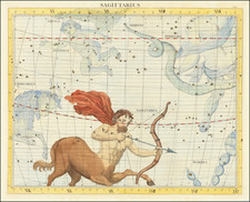 Celestial Maps Map By John Flamsteed