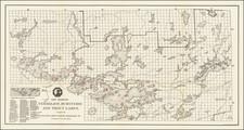 Minnesota Map By Duluth & Iron Range Railroad Co.