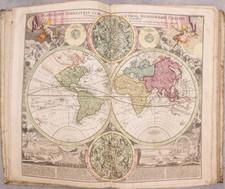 Atlases Map By Johann Baptist Homann