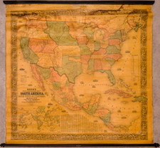 United States and North America Map By Jacob Monk