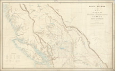 Western Canada and British Columbia Map By Topographical Depot, War Office / Sir Howard Craufurd Elphinstone
