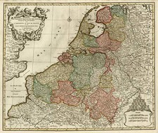 Europe and Netherlands Map By Jan Barend Elwe