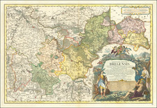 Poland Map By Homann Heirs