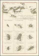 Virgin Islands and Other Islands Map By Rigobert Bonne