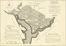 Washington, D.C. Map By Andrew Ellicott