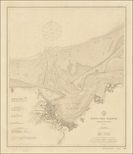 Massachusetts Map By U.S. Coast & Geodetic Survey
