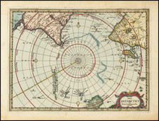 Polar Maps and Australia Map By Jacob van Waesberg