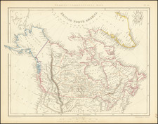 Canada Map By Chapman & Hall