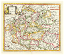 Poland and Baltic Countries Map By Giambattista Albrizzi