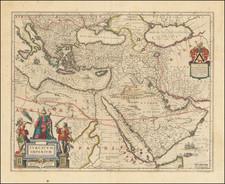 Turcicum Imperium  . . . [shows Cyprus] By Johannes et Cornelis Blaeu
