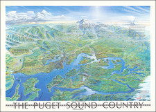 The Puget Sound Country A Pictorial Overview With Historical Notes By Richard A. Pargeter