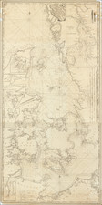 Sweden, Denmark and Norddeutschland Map By John Hamilton Moore