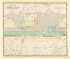 World Map By W. & A.K. Johnston