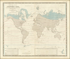 World Map By Alexander Keith Johnston