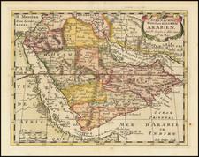 [Arabia]  'T Steenachtig Woest en Gelukkig Arabien . . . By Nicolas Sanson