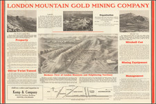 Colorado and Colorado Map By London Mountain Gold Mining Company