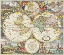 World Map By Reiner & Joshua Ottens / Frederick De Wit