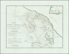 South, Virginia and American Revolution Map By Henri Soules