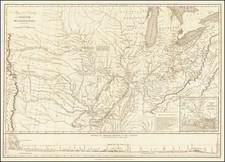 Arkansas, Midwest, Plains, Iowa, Kansas, Nebraska, North Dakota, South Dakota, Oklahoma & Indian Territory, Colorado, Rocky Mountains, Colorado and Wyoming Map By Stephen H. Long