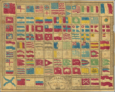 Texas and Curiosities Map By Hinman & Dutton