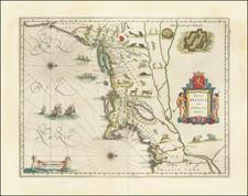 Nova Belgica Et Anglia Nova By Willem Janszoon Blaeu