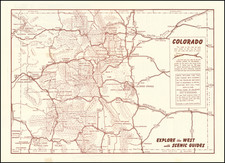 Colorado, Colorado and Pictorial Maps Map By Anonymous
