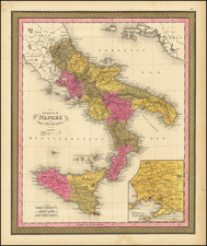 Kingdom of Naples or The Two Sicilies By Henry Schenk Tanner