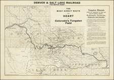 Colorado and Colorado Map By The Clason Map Company