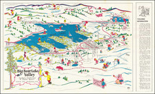 Pictorial Maps and California Map By Gil Eyer