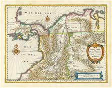 Terra Firma et Novum Regnum Granatense et Popayan By Willem Janszoon Blaeu