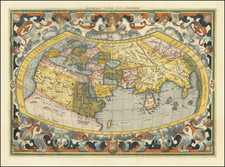 World Map By  Gerard Mercator