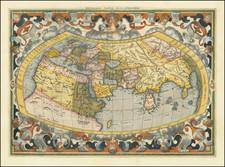 World Map By  Gerard Mercator