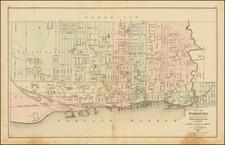 Eastern Canada Map By George Tackabury