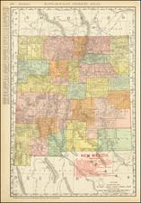 New Mexico Map By Rand McNally & Company