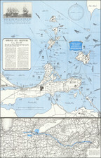 Ohio and Pictorial Maps Map By Lake Erie and Peninsula Vacationland Association