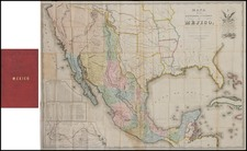 Texas, Southwest, Rocky Mountains and California Map By John Disturnell