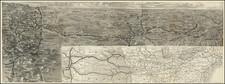 Midwest, Plains, Kansas, Nebraska, Colorado and Colorado Map By Union Pacific Railroad Company