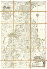 Baltic Countries Map By Ludwig August Mellin