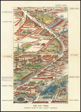 London Map By Thomas Sulman
