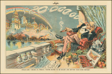 Curiosities, Pictorial Maps and San Francisco & Bay Area Map By Judge