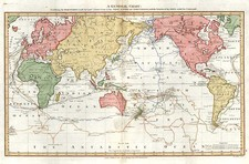 World and World Map By Alexander Hogg / James Cook