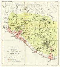 West Africa Map By Norris Peters Co.
