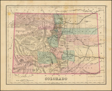 Colorado and Colorado Map By O.W. Gray