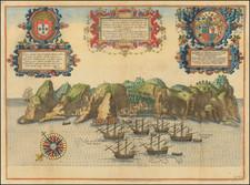 West Africa and African Islands, including Madagascar Map By Jan Huygen Van Linschoten