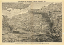 France Map By Harper's Weekly