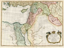 Europe, Mediterranean, Balearic Islands, Asia, Middle East and Holy Land Map By John Blair