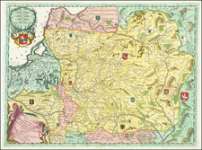 Baltic Countries Map By Vincenzo Maria Coronelli