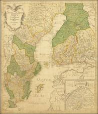 Svea ock Gota Riken med Finland ock Norland Afritade i Stockholm ar 1747 By Georg Biurman